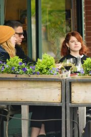 Jessie Buckley at Il Buco Restaurant in the East Village in New York City 2019/04/29 3