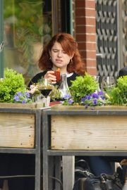 Jessie Buckley at Il Buco Restaurant in the East Village in New York City 2019/04/29 4