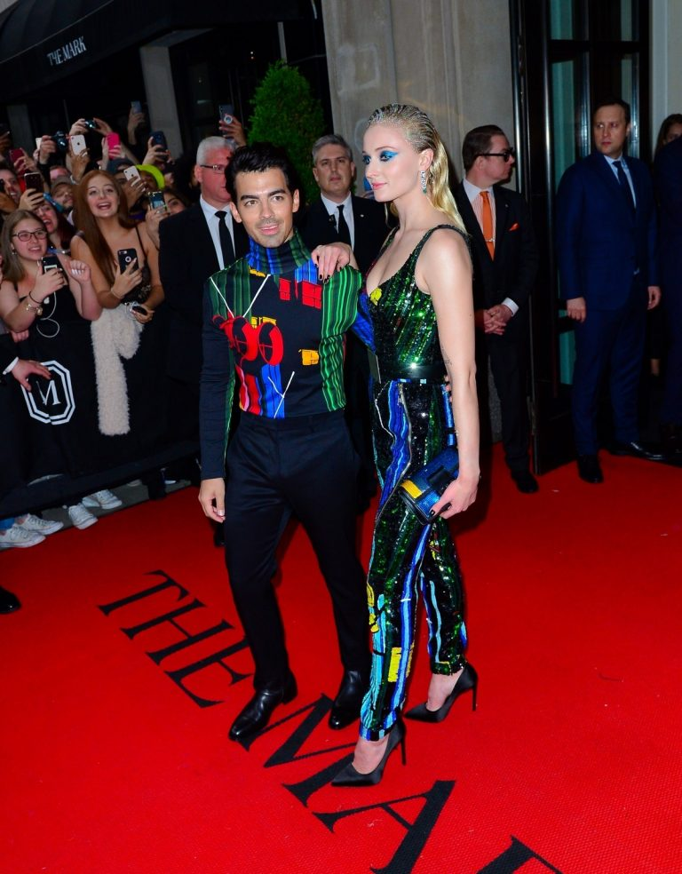 Joe Jonas and Sophie Turner Out for the Met Gala in New York 2019/05/06 1