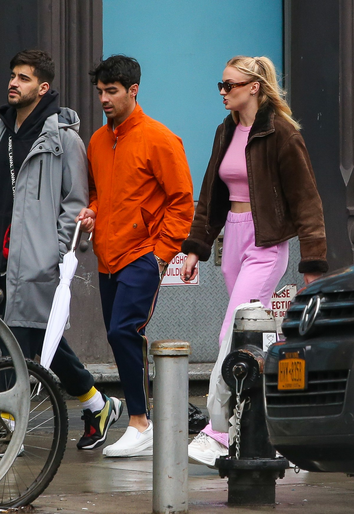 Joe Jonas and Sophie Turner Out in New York 2019/05/05 1