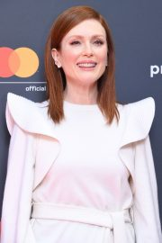 Julianne Moore in Stylish White Top During at 72nd Annual Cannes Film Festival 2019/05/15 5