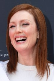 Julianne Moore in Stylish White Top During at 72nd Annual Cannes Film Festival 2019/05/15 8
