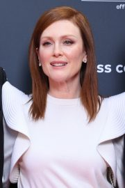 Julianne Moore in Stylish White Top During at 72nd Annual Cannes Film Festival 2019/05/15 9