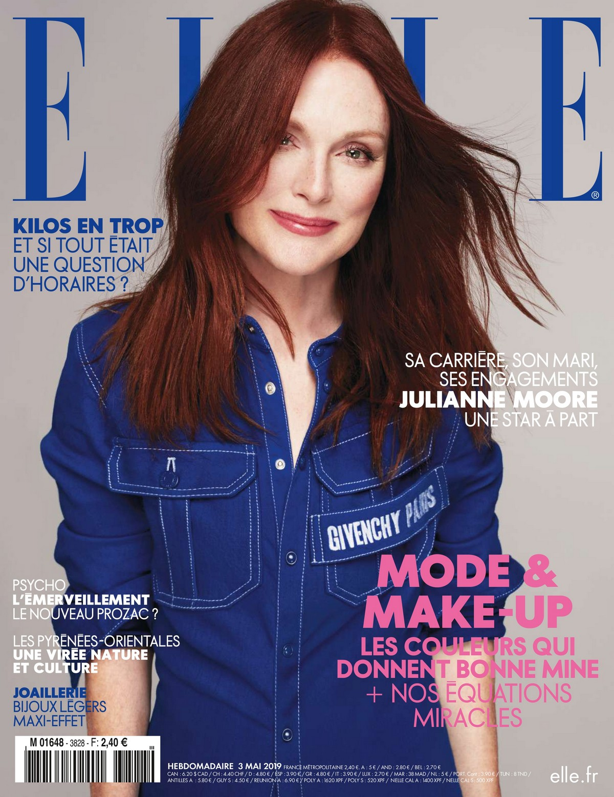 Julianne Moore Photoshoot for Elle France Magazine, May 2019 1