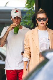 Justin Bieber and Hailey Bieber Out and About in New York 2019/05/04 1