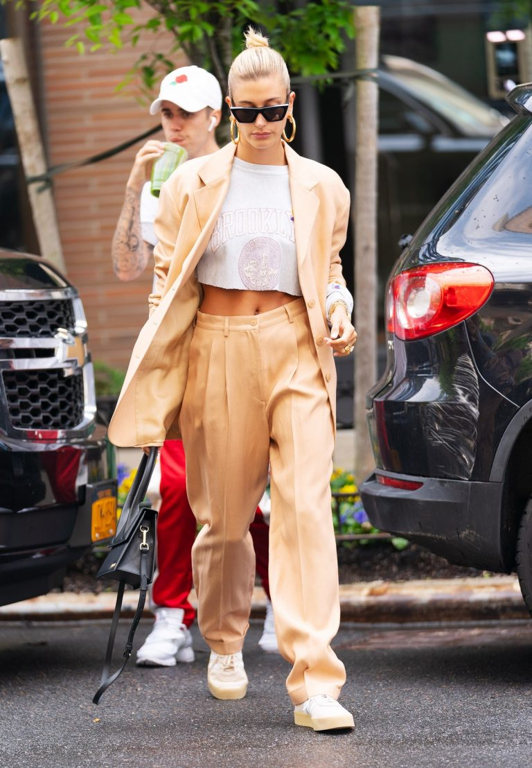 Justin Bieber and Hailey Bieber Out and About in New York 2019/05/04 4