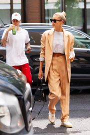 Justin Bieber and Hailey Bieber Out and About in New York 2019/05/04 5
