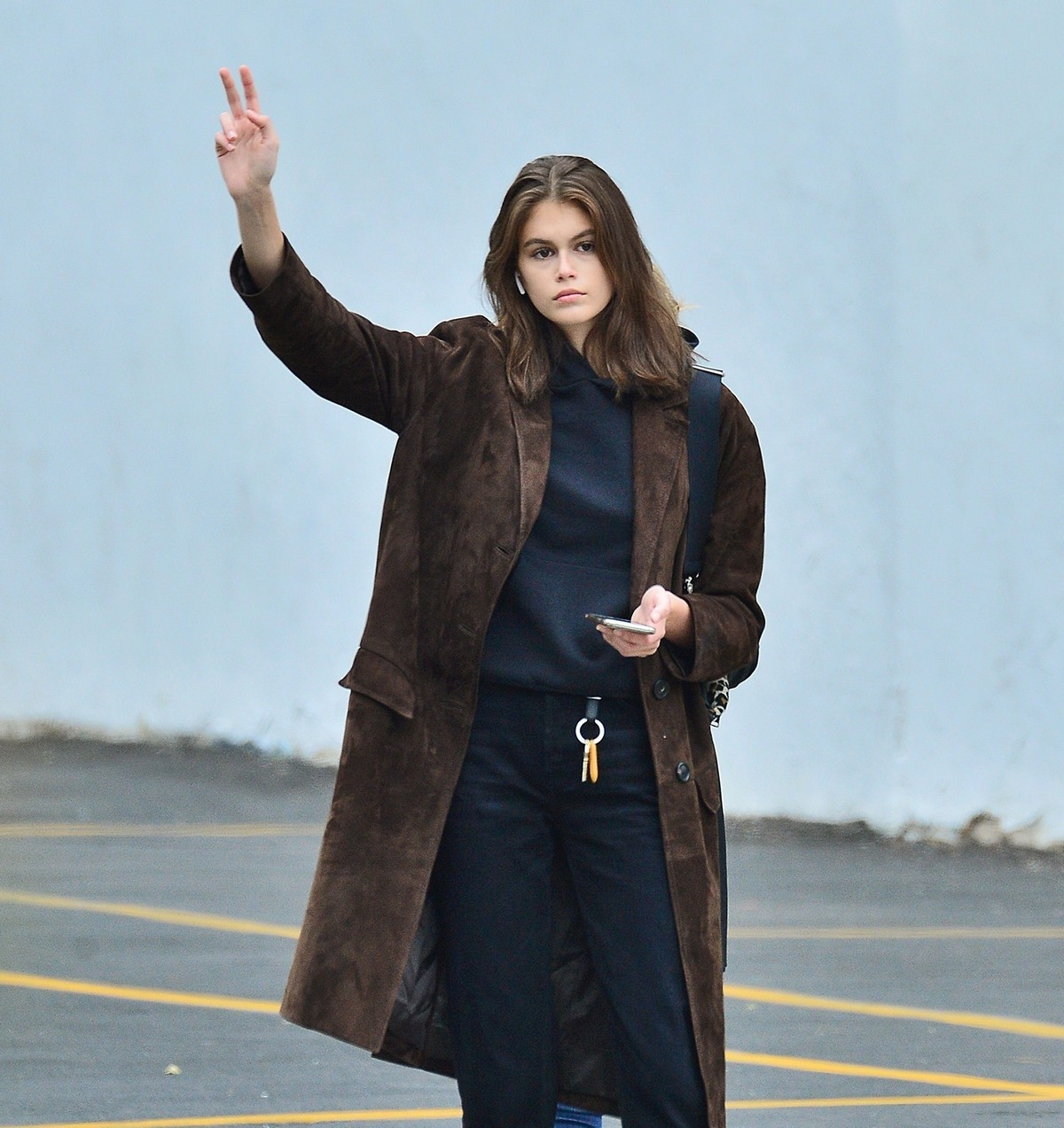 Kaia Gerber for a Cab in SoHo in New York 2019/05/03 1