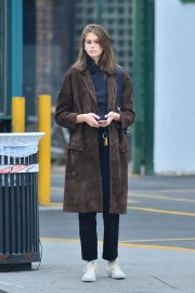 Kaia Gerber for a Cab in SoHo in New York 2019/05/03 4