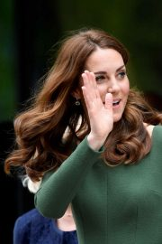 Kate Middleton at the Anna Freud Centre in London 2019/05/01 2