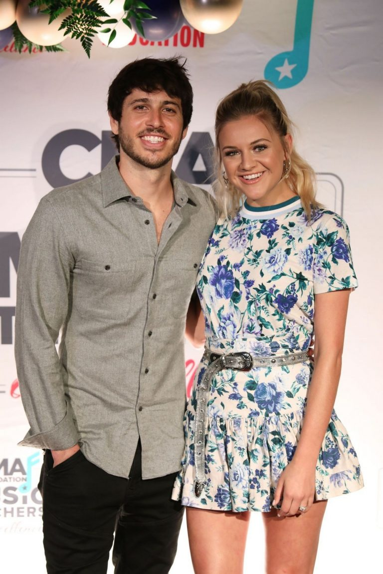 Kelsea Ballerini and Morgan Evans at the 4th Annual CMA Foundation Teachers of America Awards in Nashville 2019/04/30 4