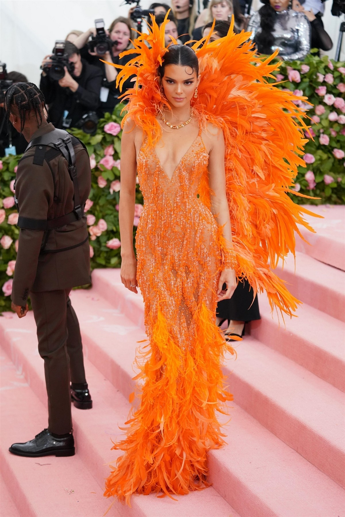 Kendall Jenner at 2019 Met Gala Celebrating Camp: Notes on Fashion in New York 2019/05/06 3