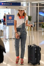 Kiernan Shipka Arrives at LAX Airport in Los Angeles 2019/05/02 2