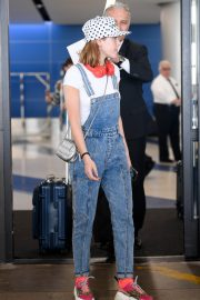 Kiernan Shipka Arrives at LAX Airport in Los Angeles 2019/05/02 9
