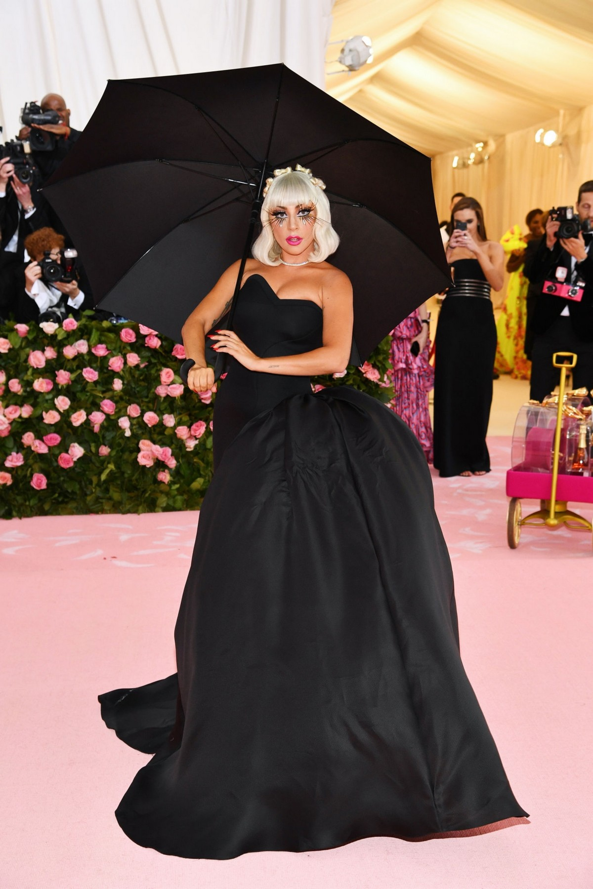 Lady Gaga at the 2019 Met Gala Celebrating Camp: Notes on Fashion in New York 2019/05/06 17