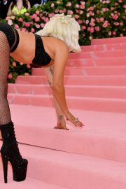 Lady Gaga at the 2019 Met Gala Celebrating Camp: Notes on Fashion in New York 2019/05/06 22