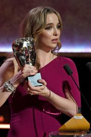 Leading Actress Awards Winner Jodie Comer at 2019 British Academy Television Awards in London 2019/05/12 2