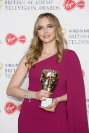 Leading Actress Awards Winner Jodie Comer at 2019 British Academy Television Awards in London 2019/05/12 4