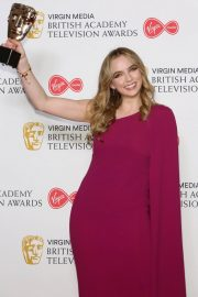 Leading Actress Awards Winner Jodie Comer at 2019 British Academy Television Awards in London 2019/05/12 5