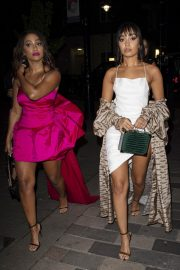 Leigh-Anne Pinnock Arrives at a Club in London for her sister's birthday party 2019/05/05 5