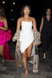 Leigh-Anne Pinnock Arrives at a Club in London for her sister's birthday party 2019/05/05 12
