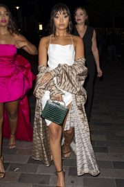 Leigh-Anne Pinnock Arrives at a Club in London for her sister's birthday party 2019/05/05 13