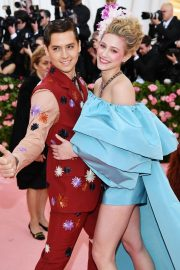 Lili Reinhart at The 2019 Met Gala Celebrating Camp: Notes on Fashion in New York 2019/05/06 4