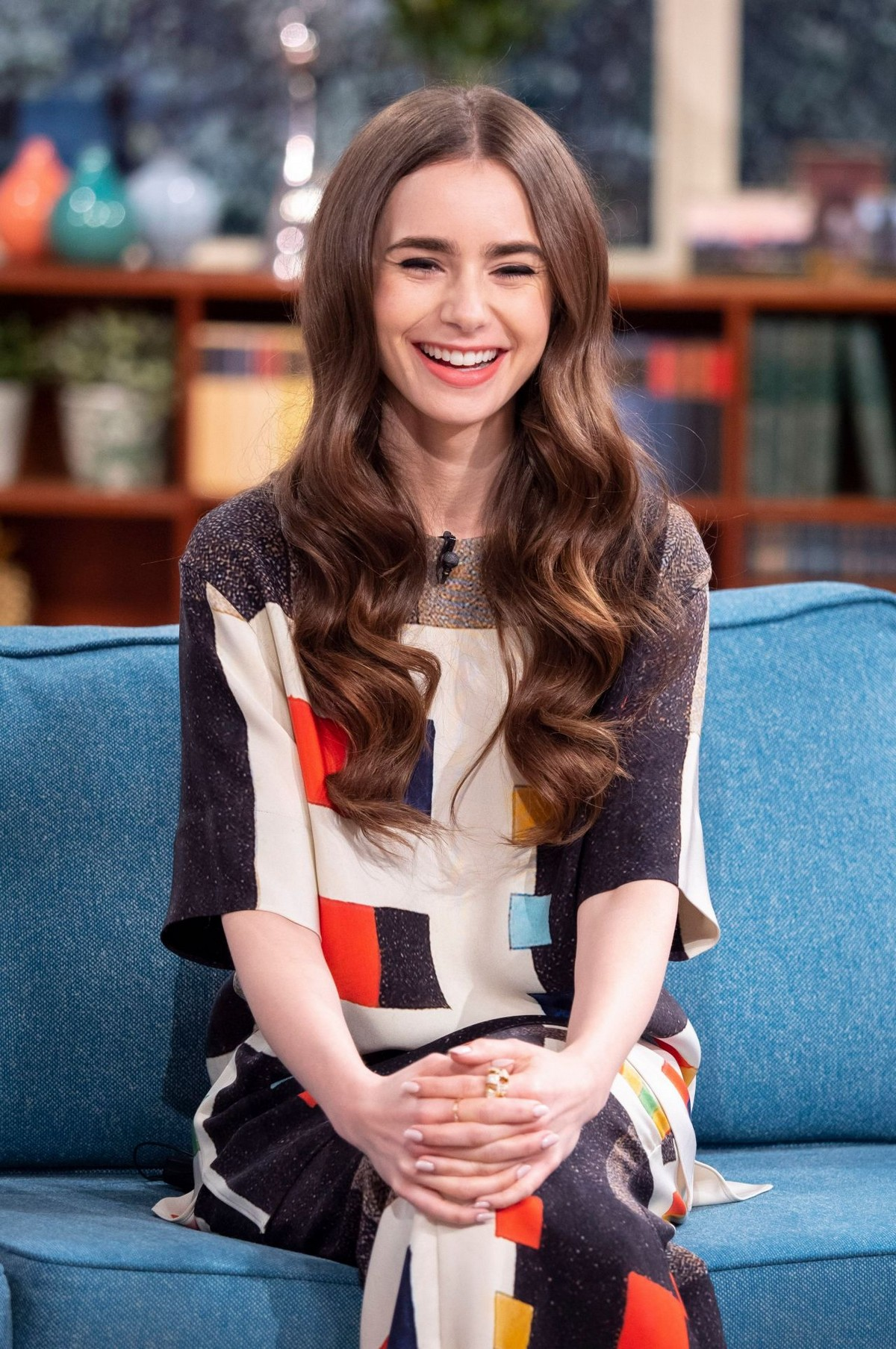Lily Collins at This Morning TV Show in London 2019/04/30 4