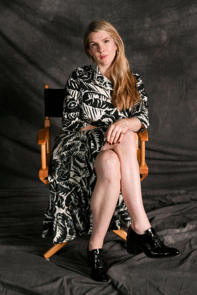 Lily Rabe at Jury Welcome Lunch Portraits at 2019 Tribeca Film Festival 1