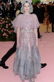 Lucy Boynton at The 2019 Met Gala celebrating Camp: Notes on Fashion in New York 2019/05/06 2