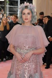 Lucy Boynton at The 2019 Met Gala celebrating Camp: Notes on Fashion in New York 2019/05/06 4