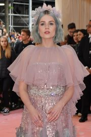 Lucy Boynton at The 2019 Met Gala celebrating Camp: Notes on Fashion in New York 2019/05/06 5