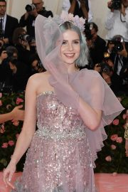 Lucy Boynton at The 2019 Met Gala celebrating Camp: Notes on Fashion in New York 2019/05/06 6