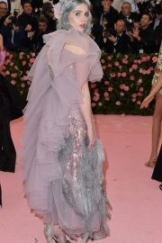 Lucy Boynton at The 2019 Met Gala celebrating Camp: Notes on Fashion in New York 2019/05/06 7