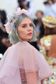 Lucy Boynton at The 2019 Met Gala celebrating Camp: Notes on Fashion in New York 2019/05/06 9