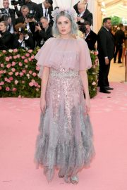 Lucy Boynton at The 2019 Met Gala celebrating Camp: Notes on Fashion in New York 2019/05/06 13