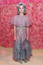 Lucy Boynton at The 2019 Met Gala celebrating Camp: Notes on Fashion in New York 2019/05/06 16