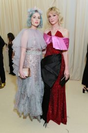 Lucy Boynton at The 2019 Met Gala celebrating Camp: Notes on Fashion in New York 2019/05/06 21