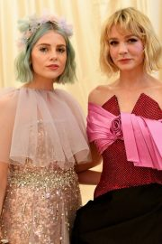 Lucy Boynton at The 2019 Met Gala celebrating Camp: Notes on Fashion in New York 2019/05/06 22