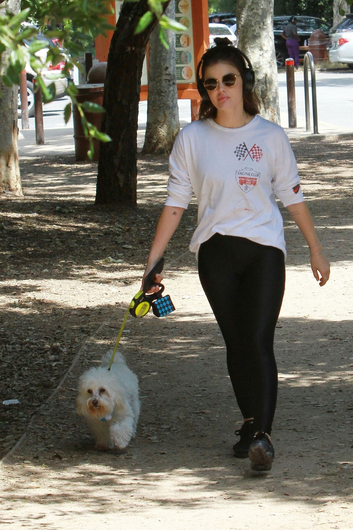 Lucy Hale walk with Her Dog at Los Angeles 2019/05/01 1