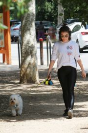 Lucy Hale walk with Her Dog at Los Angeles 2019/05/01 3