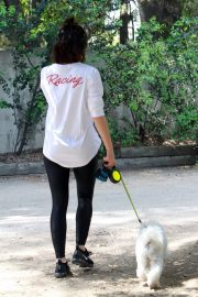 Lucy Hale walk with Her Dog at Los Angeles 2019/05/01 9