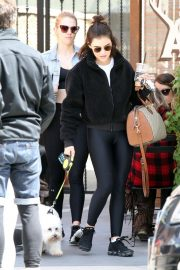 Lucy Hale with friends and her dog Out in Studio City 2019/05/01 9