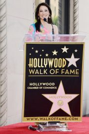 Lucy Liu at Star Ceremony on the Hollywood Walk of Fame 2019/05/01 2