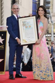 Lucy Liu at Star Ceremony on the Hollywood Walk of Fame 2019/05/01 7