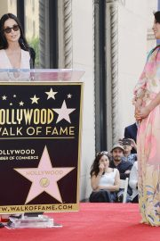 Lucy Liu at Star Ceremony on the Hollywood Walk of Fame 2019/05/01 10