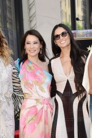 Lucy Liu at Star Ceremony on the Hollywood Walk of Fame 2019/05/01 18