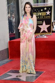 Lucy Liu at Star Ceremony on the Hollywood Walk of Fame 2019/05/01 21