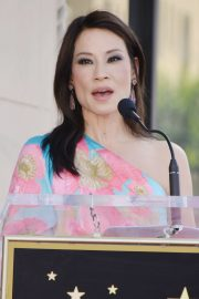 Lucy Liu at Star Ceremony on the Hollywood Walk of Fame 2019/05/01 23