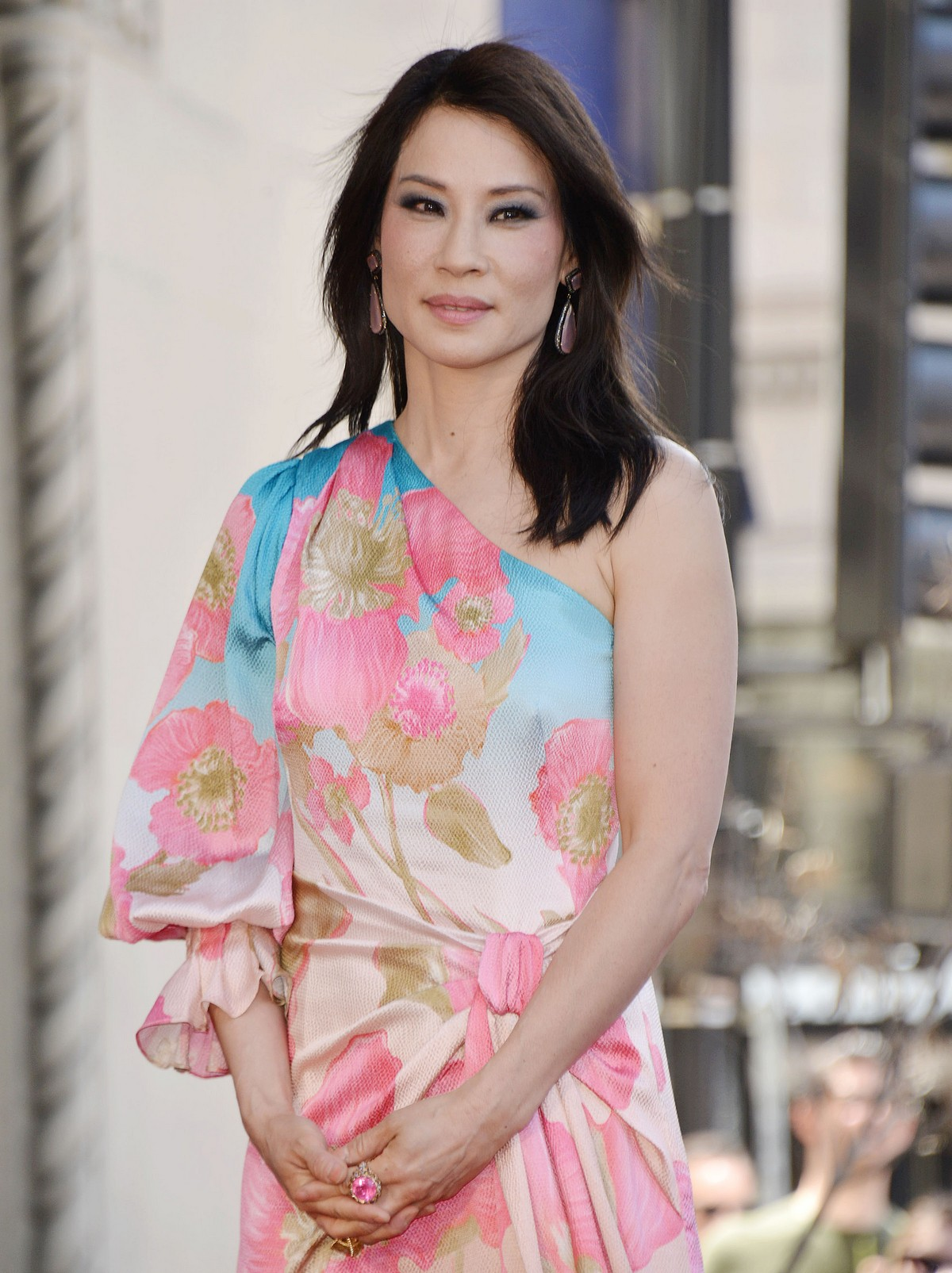 Lucy Liu at Star Ceremony on the Hollywood Walk of Fame 2019/05/01 29